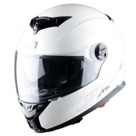 ASTONE KASK GT800 SOLID EXCLUSIVE WHITE S
