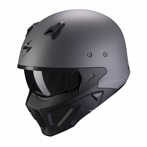 SCORPION KASK COVERT-X CEMENT GRAY MAT XL