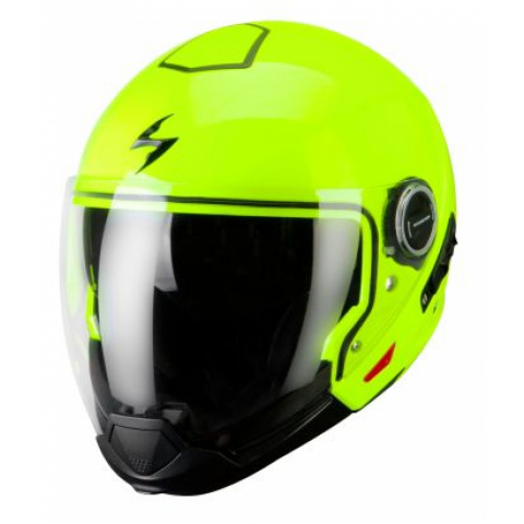 SCORPION KASK EXO-300 AIR YELLOW NEON XL