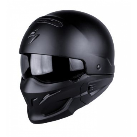 SCORPION KASK EXO-COMBAT MATT BLACK S