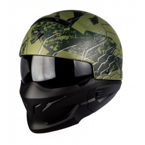 SCORPION KASK EXO-COMBAT RATNIK MATT GREEN XL