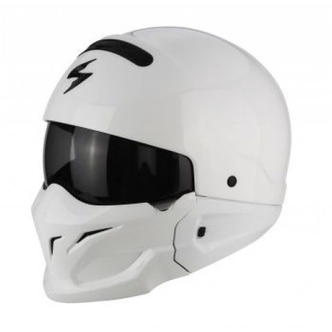 SCORPION KASK EXO-COMBAT SOLID WHITE XS