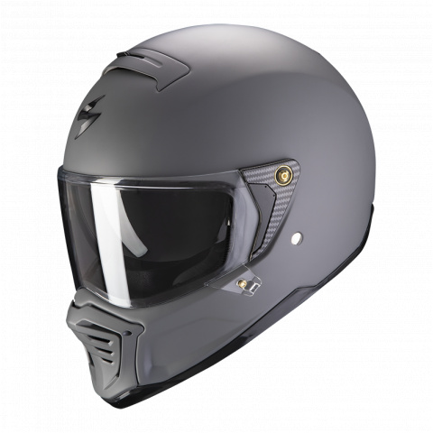 SCORPION KASK EXO-HX1 SOLID MAT CEMENT GREY XL