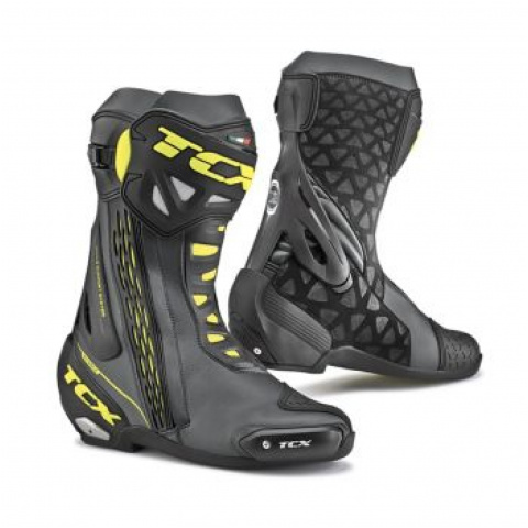TCX BUTY RT-RACE BLACK/YELLOW FLUO 45